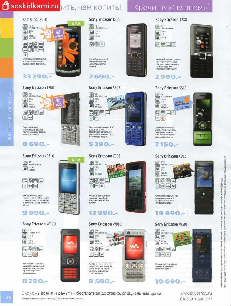 Цены на технику и смартфоны в 2009 году
