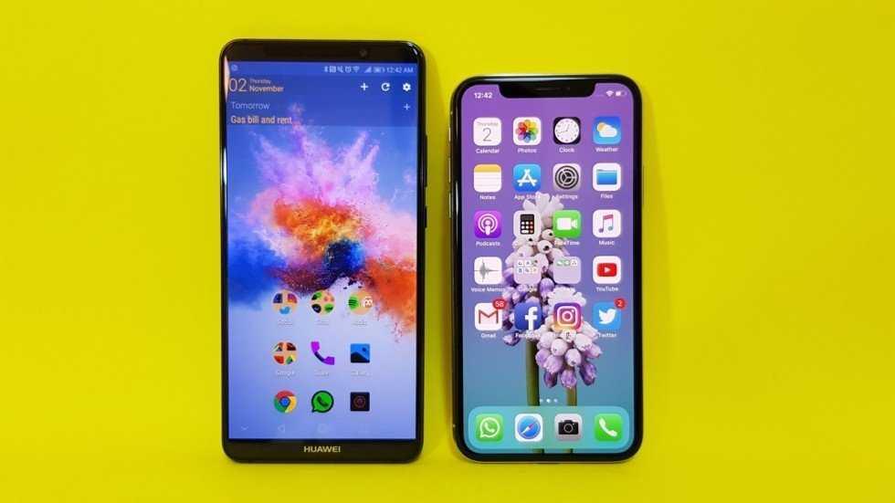 Huawei и Apple