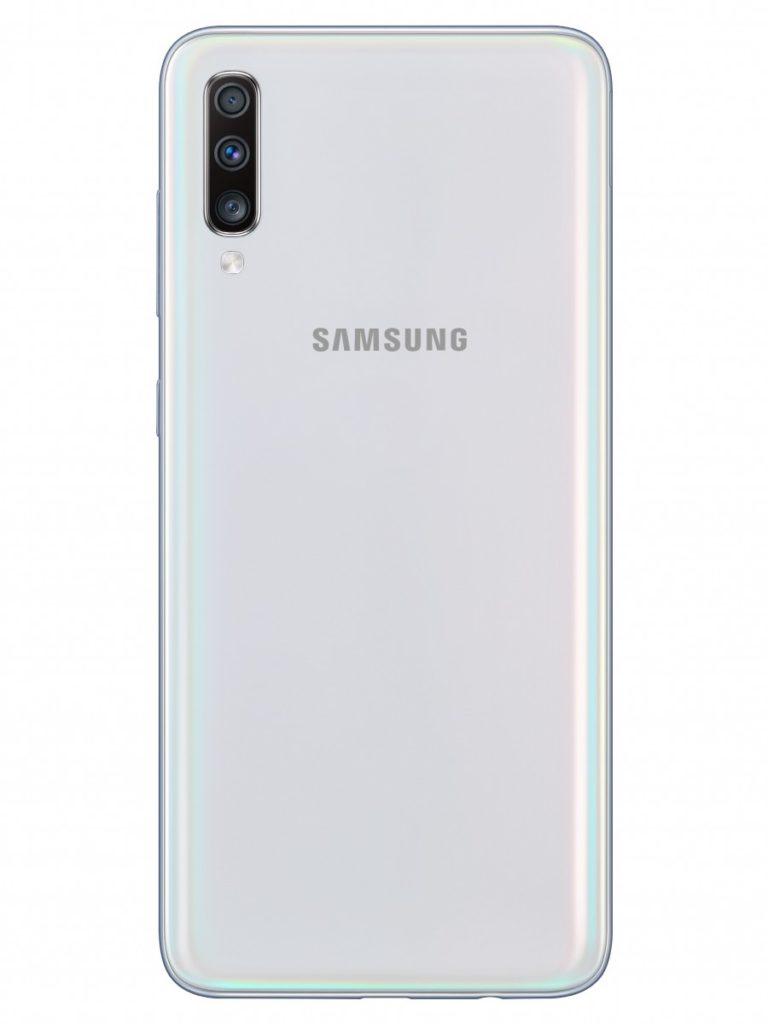 "Samsung Galaxy A70: аккумулятор 4500 мАч, экран 6.7"" и тройная камера 32 МП"