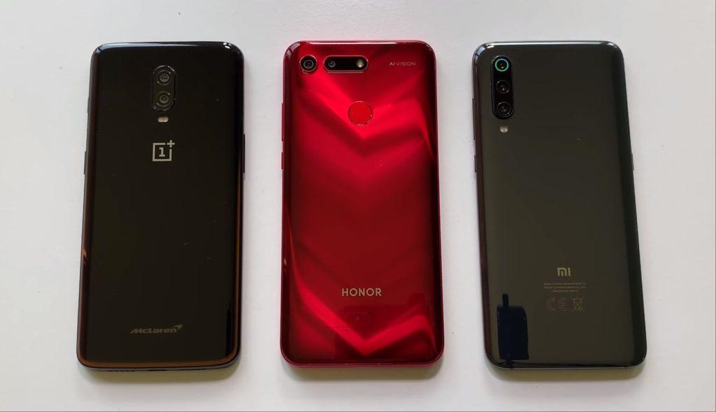 Xiaomi Mi9 против Honor View 20