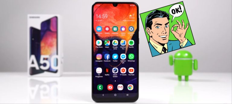 Samsung A50 подешевел в России, теперь российская цена самая низкая в мире