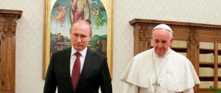 Путин обсудит Украину с Папой Римским. Что решат?